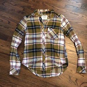 Abercrombie plaid shirt